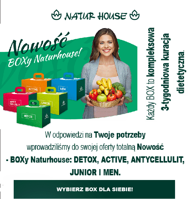 Naturhouse box cennik